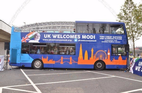 Modi Express Launched in London